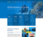 Scuba Diving Web Design