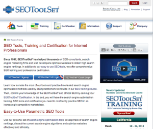 seo tool set by bruce clay