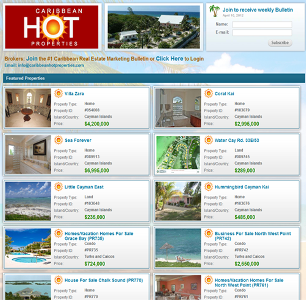 Caribbean Hot Properties