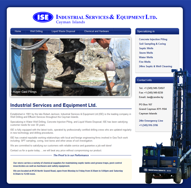 Industrial Services and Equipment LTD.