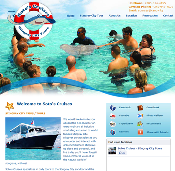 Soto\'s Cruises Stingray City Tours