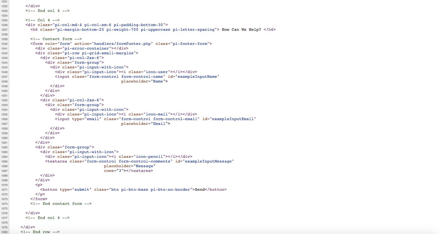 Amateur web design