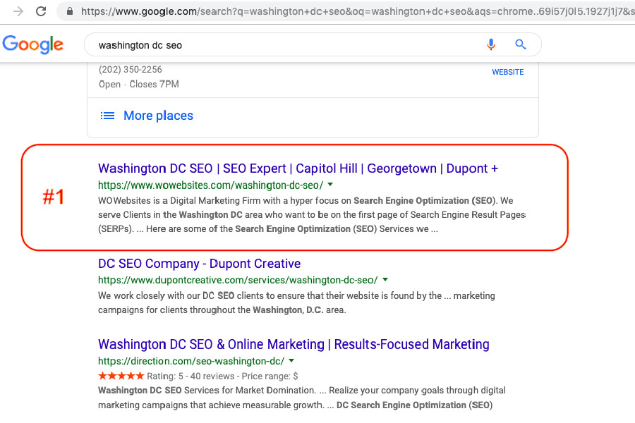 How to Create A Top Ranking Landing Page for a Major Keyword