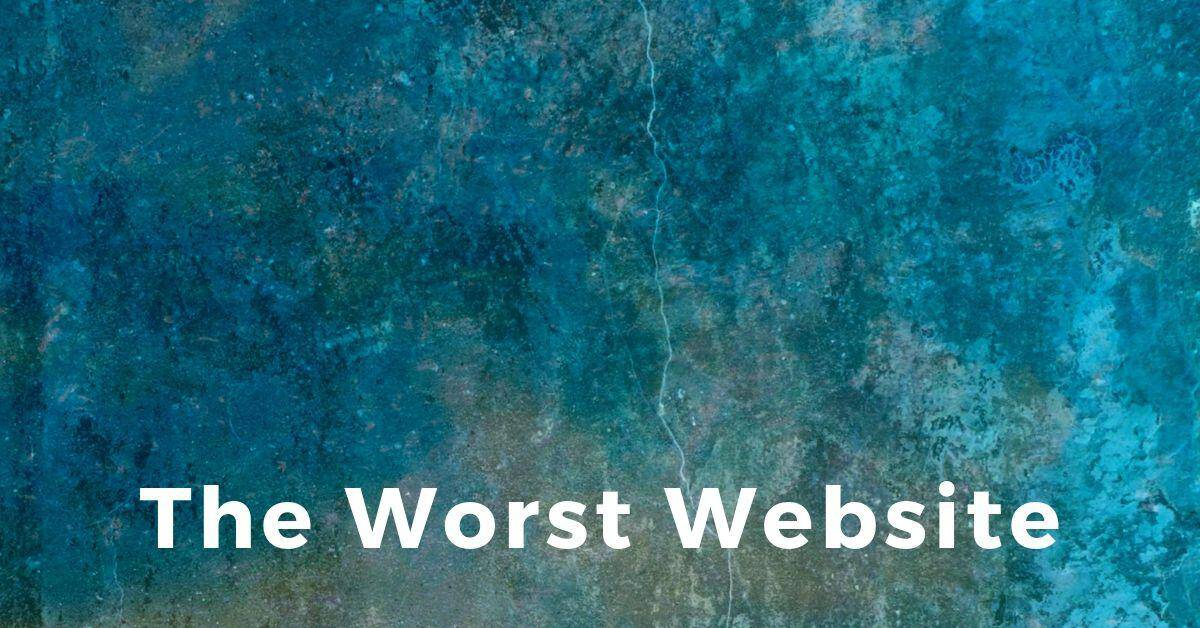 The Worst Website Contest 2019